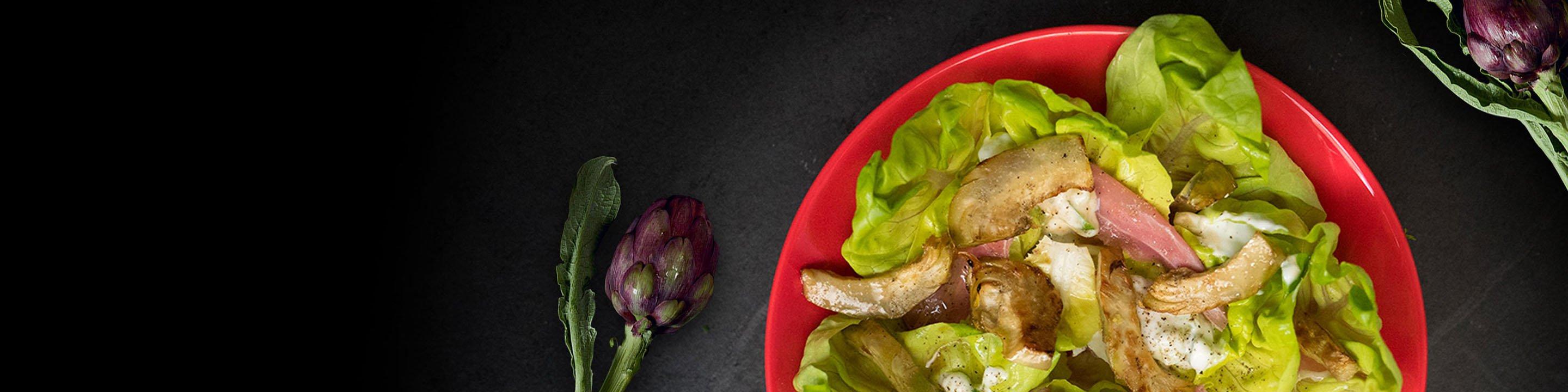 Salade d'artichauts