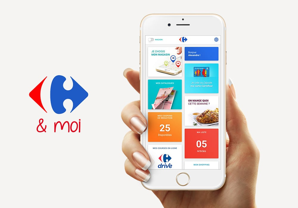 Application Carrefour & Moi