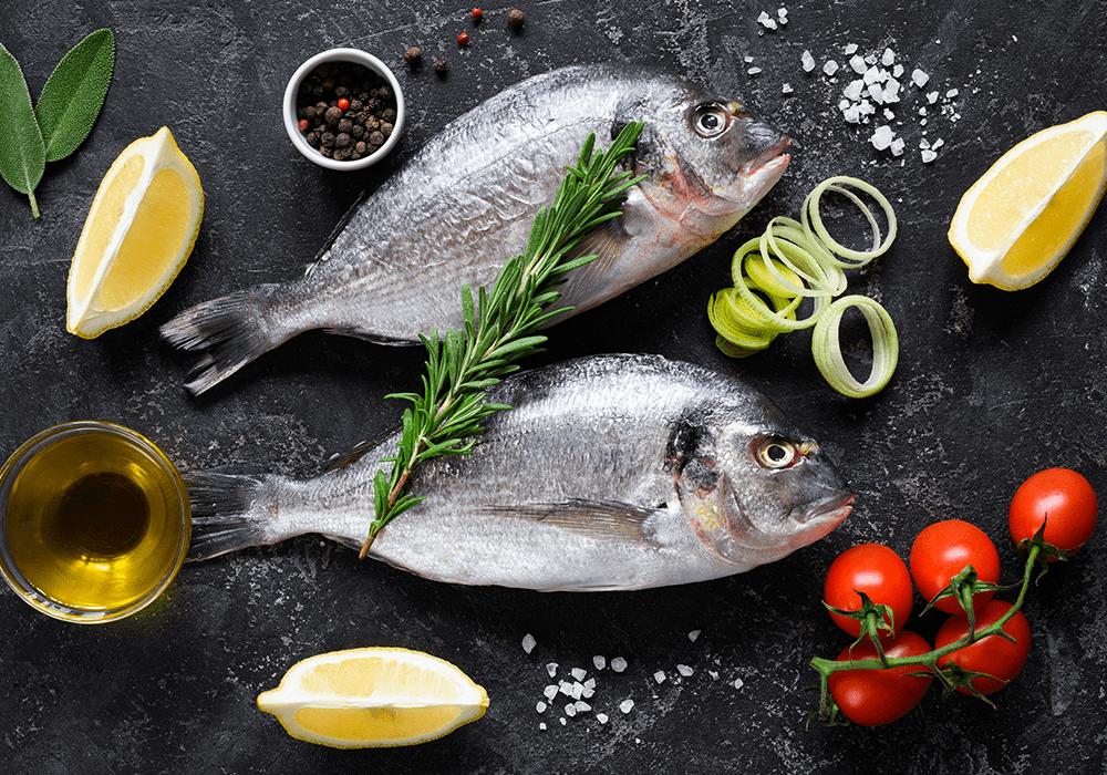 Les produits de la mer Carrefour
