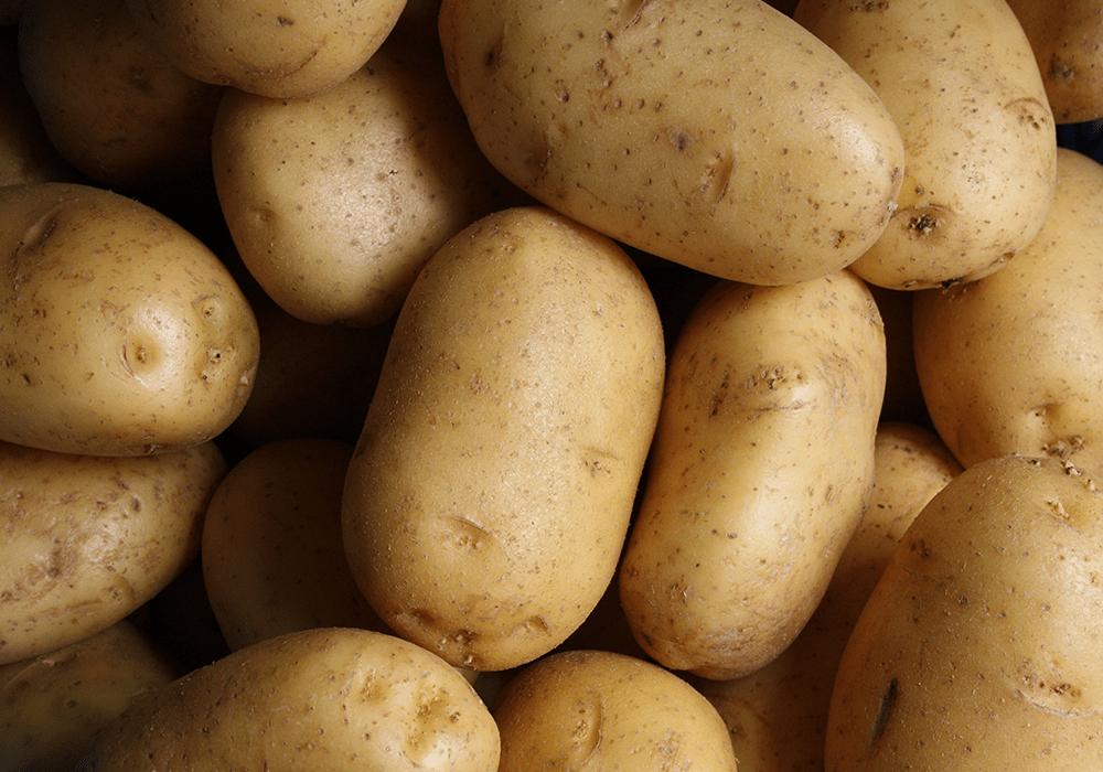 Les pommes de terre Carrefour