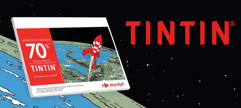 Opération Vignette Tintin