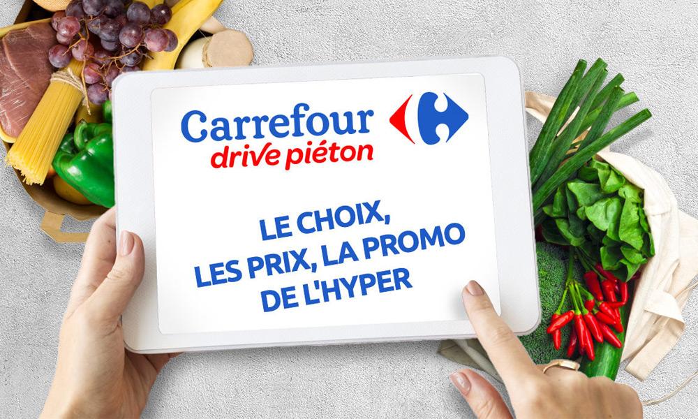 692fb5b172a Carrefour Drive Piéton. Découvrez ...