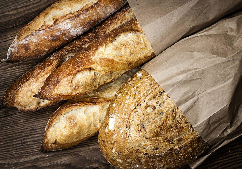 Les baguettes et pains Filière Qualité Carrefour.