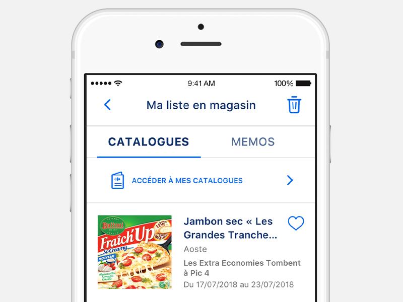 Carte Carrefour Virtuelle.Application Mobile Carrefour