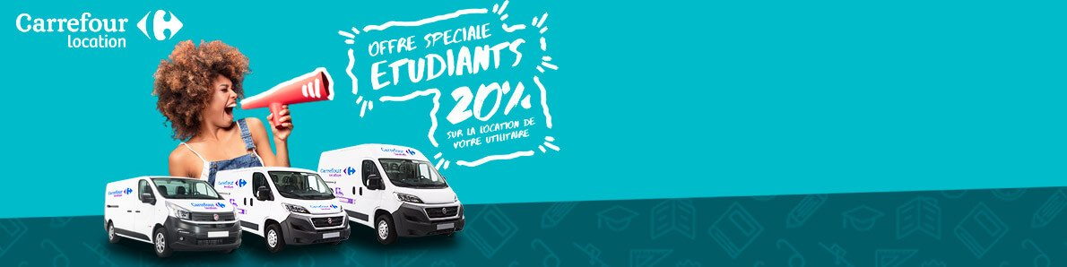 Location Minibus 9 Places Carrefour