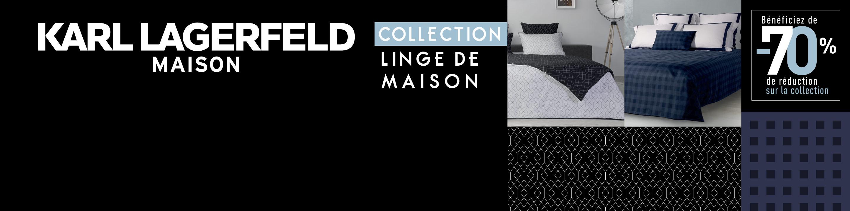 Vignette Carrefour Linge De Maison.Collection Karl Lagerfeld Maison Carrefour Fr