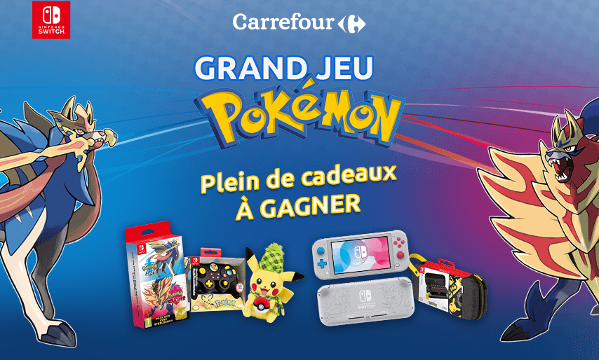 Grand jeu Pokémon - Carrefour