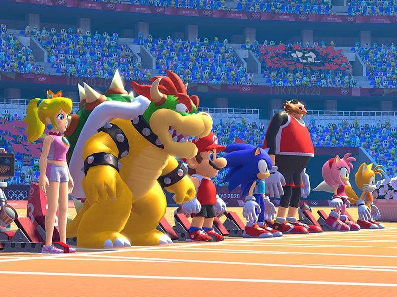 Mario Sonic Aux Jeux Olympiques Toyko 2020 Nintendo