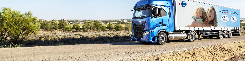Carrefour déploie ses camions bio méthane