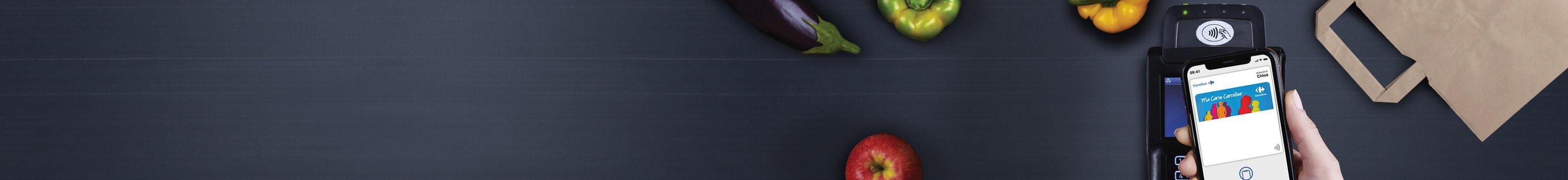 Carte Carrefour dans Apple Wallet