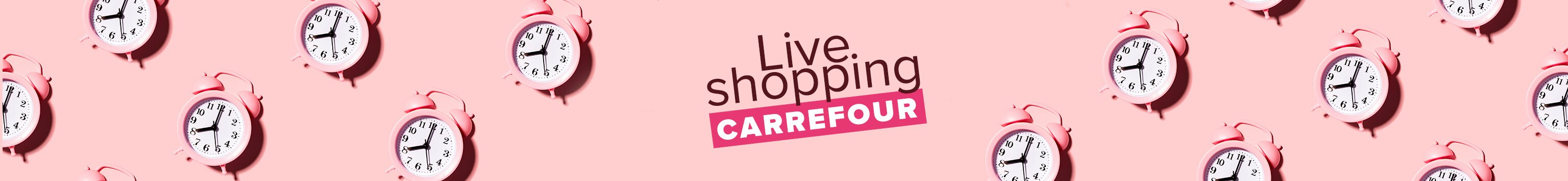 Live shopping Carrefour
