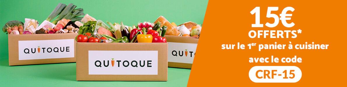 Offre bienvenue Quitoque