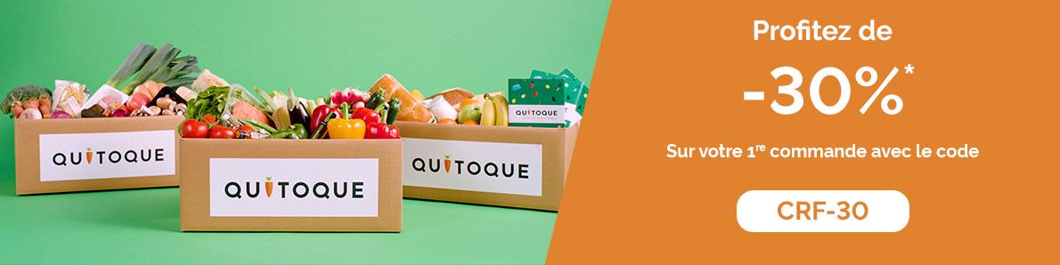Offre de bienvenue Quitoque - Carrefour